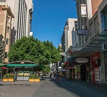 Rundle Mall - Tall buildings by DPalmer