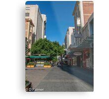 Rundle Mall - Tall buildings Metal Print