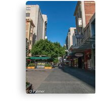 Rundle Mall - Tall buildings Canvas Print