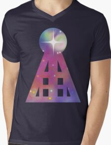 Triangular Nebula Mens V-Neck T-Shirt