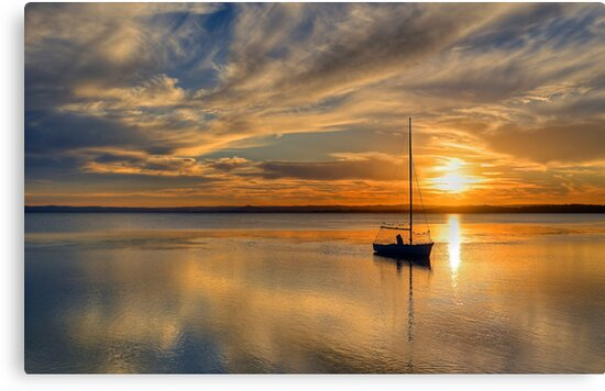 Central Coast Sunset  9-3-13. by Warren  Patten