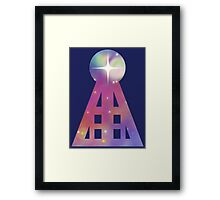 Triangular Nebula Framed Print