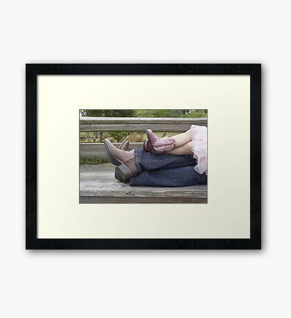 Cowgirls Framed Print