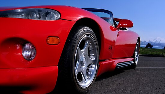 Dodge Viper at Alki beach by mcdesign