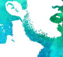 blue/green profile Sticker