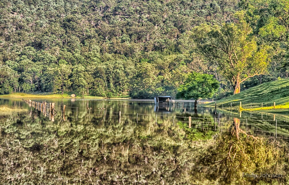 Mirror Image - St Albans, NSW - The HDR Experience by Philip Johnson