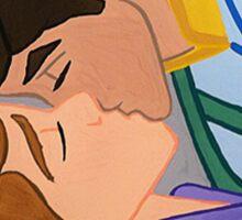 prince kiss Sticker