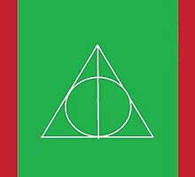 The Deathly Hallows (In Green) by PiranhaCakes