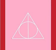 The Deathly Hallows (In Pink) by PiranhaCakes