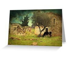 Once upon a time in Phokaia  Greeting Card