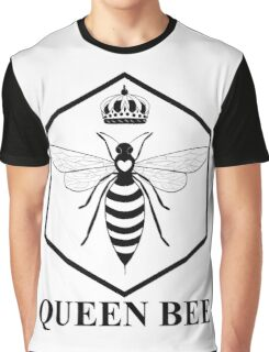 Amelia Bees Logo - Queen Bee (in black) Graphic T-Shirt