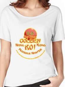 Sleeping Dogs, Golden Koi Noodle Bar Women's Relaxed Fit T-Shirt