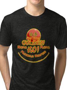 Sleeping Dogs, Golden Koi Noodle Bar Tri-blend T-Shirt