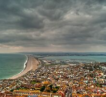 Storm Over Chesil Beach by Paul Hutchinson