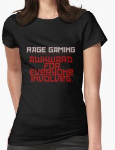 Awkward for Everyone Involved - Red Womens Fitted T-Shirt