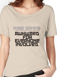 Awkward for Everyone Involved - Black Women's Relaxed Fit T-Shirt