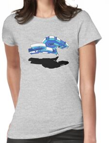 RO BLUE Womens Fitted T-Shirt