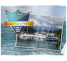 A Love of Boats Poster