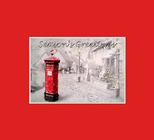 Seasons Greetings Postbox Unisex T-Shirt