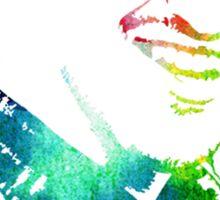 rainbow imogene set Sticker