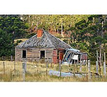 A rather dilapidated house  Photographic Print