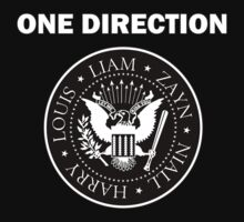 one direction ramones logo (2.0) by quidditched