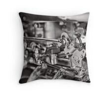 Throttle Link Throw Pillow