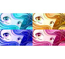 Manga Eyes Photographic Print