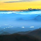 LEMON SKY Sunrise BLUE  SMOKIES LAKES by Randy & Kay Branham
