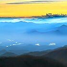 LEMON SKY Sunrise BLUE  SMOKIES LAKES by Randy & Kay Branham