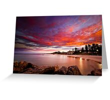Cottesloe Sunrise Greeting Card