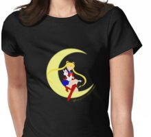 Agent of Love and Justice, Sailor Moon Womens Fitted T-Shirt