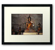 Buddha Statues Framed Print