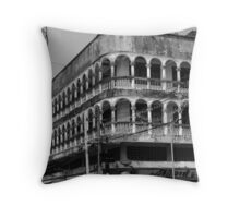 Old Town Phuket Architecture Throw Pillow