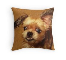 Did I hear you say 'Treat'? Throw Pillow