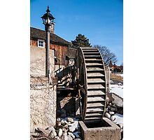 The Mill Wheel Photographic Print