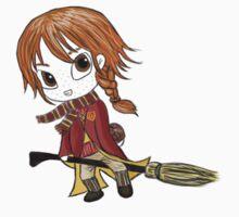 Ginny Weasley Chibi by Kristina Moy