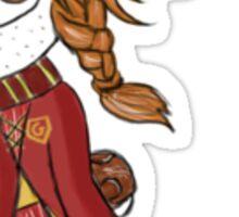 Ginny Weasley Chibi Sticker