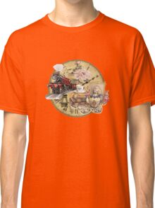 old-timey tea time Classic T-Shirt