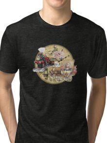 old-timey tea time Tri-blend T-Shirt