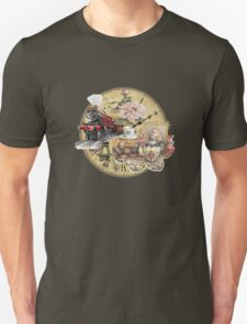 old-timey tea time T-Shirt