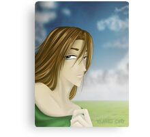 What's on your mind, forgotten fiance? Canvas Print