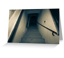 Stairs. Greeting Card