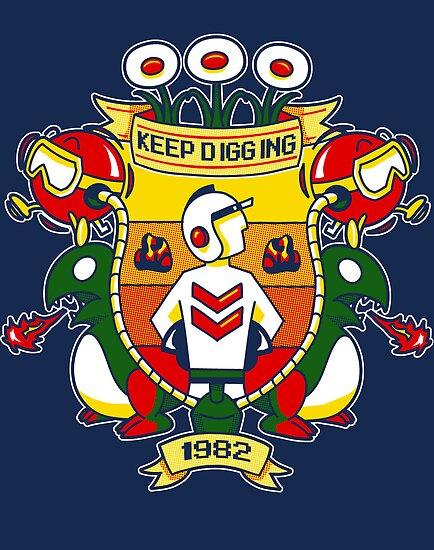 Just Keep Digging by HartmanArts