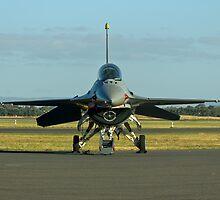 F-16 Head on by Bairdzpics