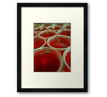Jello Shots Framed Print