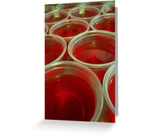 Jello Shots Greeting Card