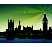 London Big Ben and house of parliament Photographic Print