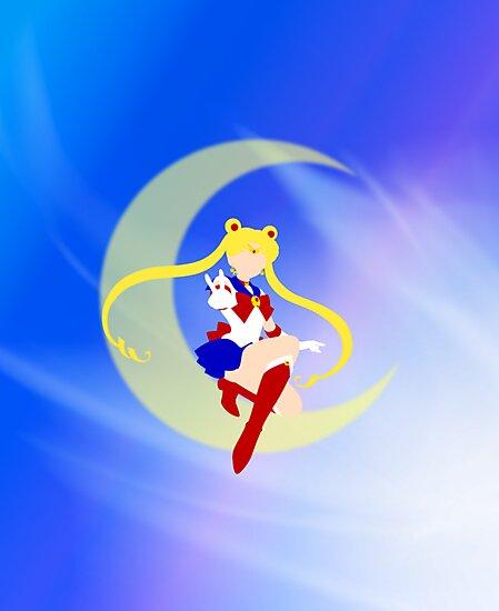Sailor Moon Lineless Art by usakoneko