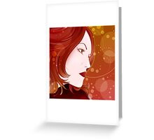 Bella Donna II Greeting Card
